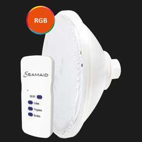 Ampoule Ozéo Color Light avec télécommande