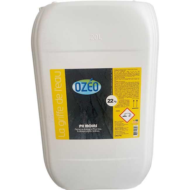 PH Moins liquide Ozéo 20L